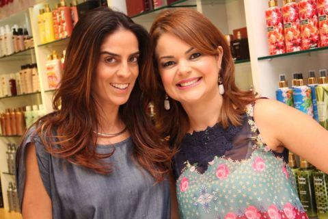Tinesa Emerenciano e Larissa Daher