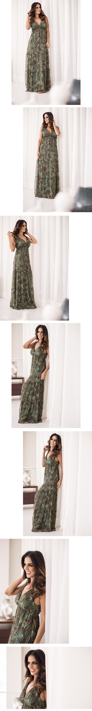 vestido longo cantao
